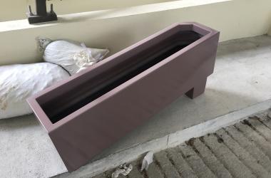 Custom made movable planter pot